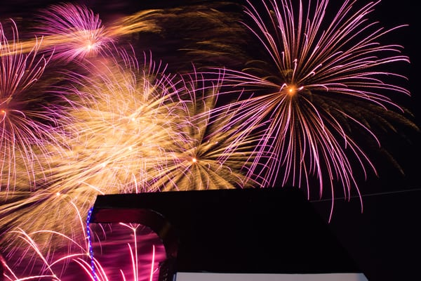 Cowes Fireworks Party Cruise
