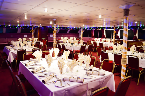 3 Course Christmas Lunch Cruise